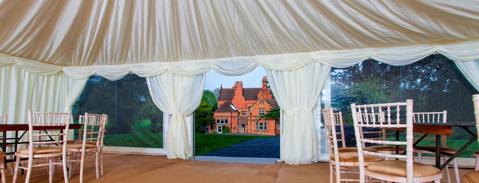 marquee wedding venue in Surrey